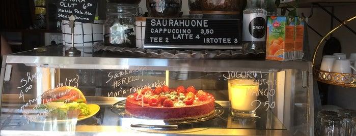 Cafe Saurahuone is one of Tempat yang Disimpan Salla.