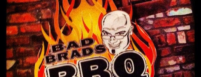 Bad Brad's BBQ is one of Lugares guardados de Amber.