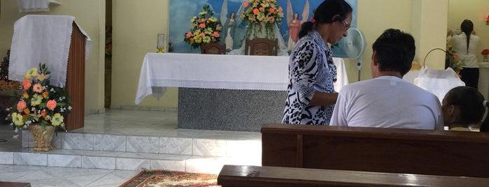 Capela N. Sra. das Graças - Grilo / Caucaia/CE is one of Lugares guardados de Arquidiocese de Fortaleza.