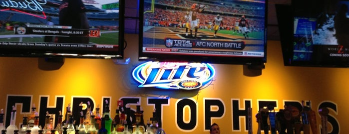 Christoper's Sports Tavern is one of Western MA.