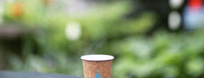 Blue Bottle Coffee is one of NY.