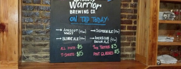 Black Warrior Brewing Company is one of Best Breweries in the World 2.