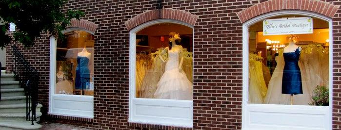 Ellie's Bridal Boutique is one of Locais curtidos por Sophie.