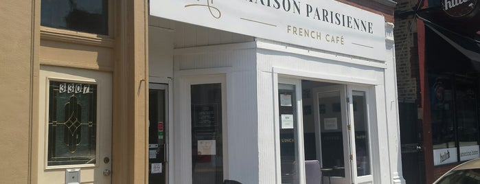 Maison Parisienne is one of Chicago Casual Food 🥘🍝🌮.