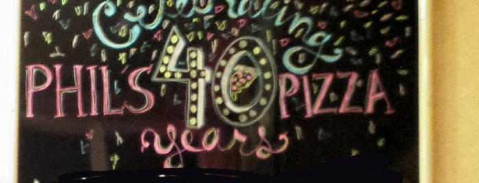 Phils Pizza is one of Gary 님이 좋아한 장소.
