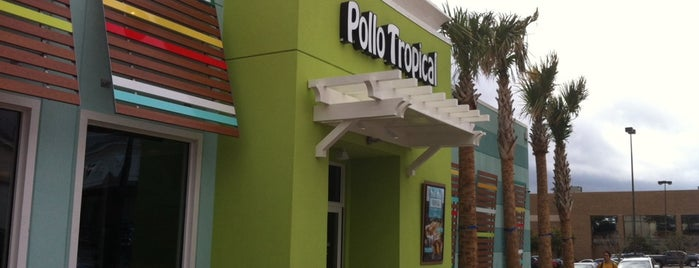 Pollo Tropical is one of Locais curtidos por Krystal.