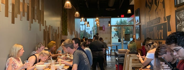 HiroNori Craft Ramen - Long Beach is one of Posti che sono piaciuti a Mark.