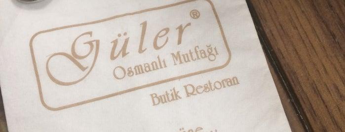 Güler Osmanlı Mutfağı is one of Tempat yang Disukai Serpil.