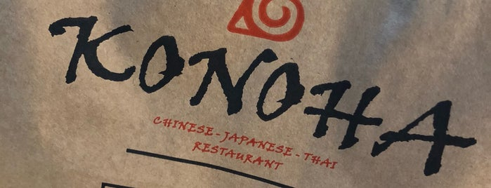 Konoha Restaurant is one of Tempat yang Disukai Serpil.