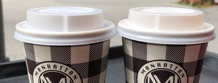 Manhattan Coffee is one of Tempat yang Disukai Serpil.