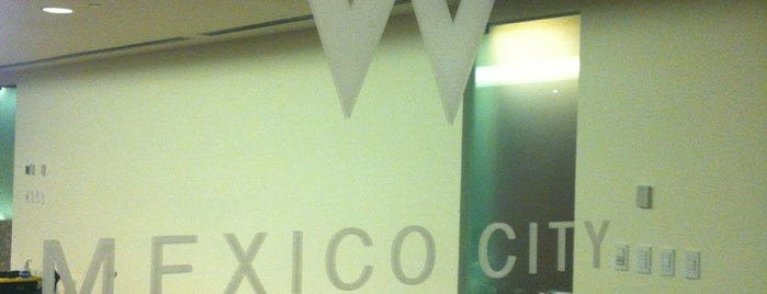W Hotel is one of HOTELES FRIENDLY CIUDAD DE MEXICO.