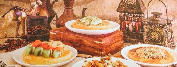 SALAMLEK Kunafah كنافة سلاملك is one of Dubai Cafe Must Try.