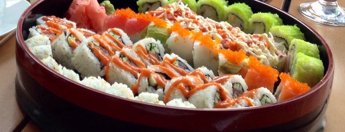 Hako Sushi is one of Dubai restaurants.