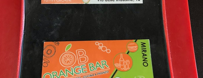 Orange Bar is one of Veneto best places 2nd part.
