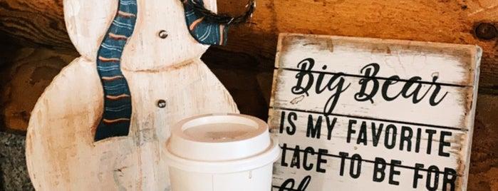 Moonridge Coffee is one of Big Bear CA.