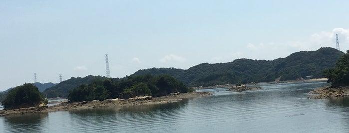 天草松島 is one of 日本の白砂青松100選.