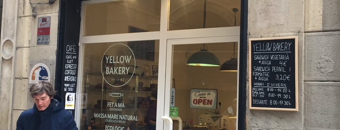 Yellow Bakery is one of Happy Barcelona.