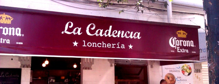 La Cadencia Lonchería is one of Roma Favorites.