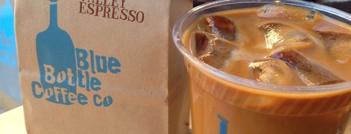 Blue Bottle Coffee is one of New York City Coffee by Subway Stop.