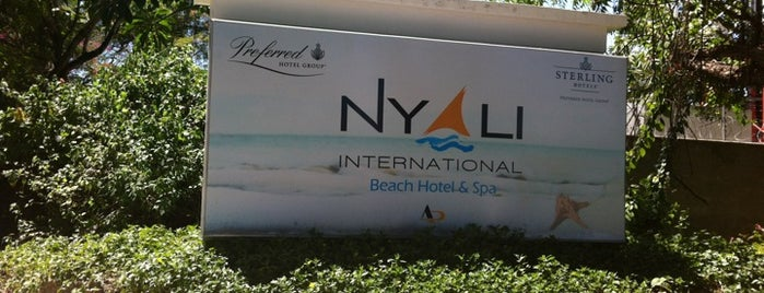 Nyali Beach International Hotel is one of Lieux qui ont plu à Kemo.