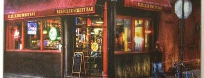 Bleecker Street Bar is one of Manhattan Bars to Check Out.