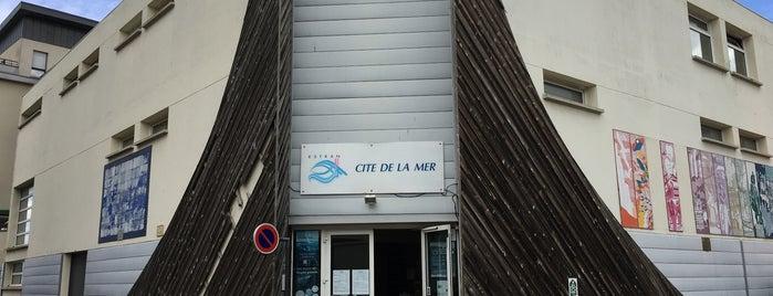 ESTRAN Cité de la Mer is one of Normandy.
