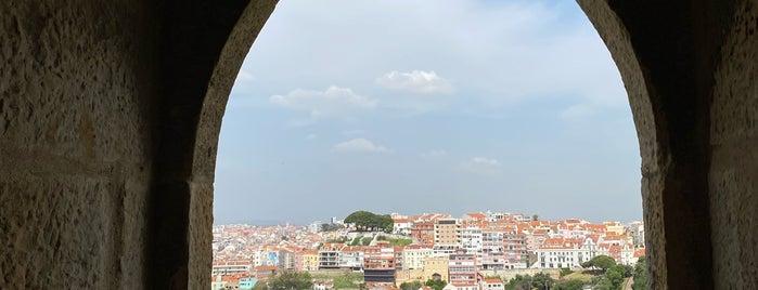 Miradouro do Castelo de São Jorge is one of Lisbon, Portugal.