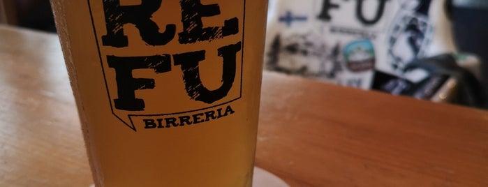REFU birreria is one of Lugares favoritos de JC.
