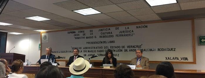 Casa de la Cultura Juridica is one of Posti che sono piaciuti a Karen M..