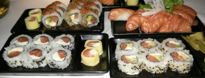 SushiClub is one of Silvina.