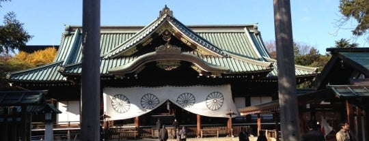 Yasukuni-jinja Shrine is one of Japan.
