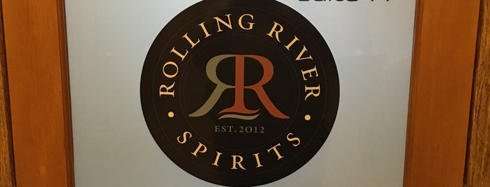 Rolling River Spirits is one of Distillery Row - PDX.