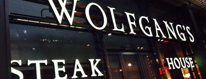 Wolfgang's Steakhouse is one of NewYork Places....