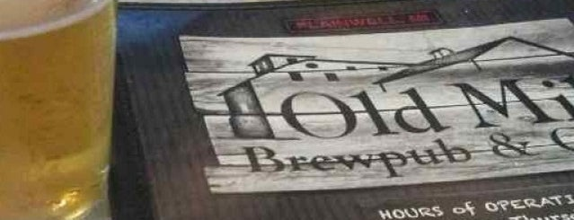 Old Mill Brewpub & Grill is one of Michigan Breweries.