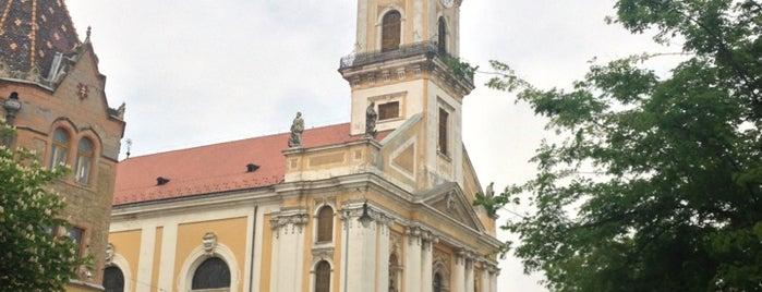 Kecskemét főtér is one of István : понравившиеся места.