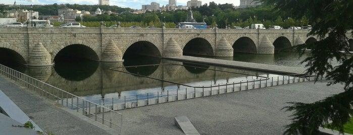 PUENTE SEGOVIA, S.L. is one of Madrid Río: Puentes, pasarelas y presas.
