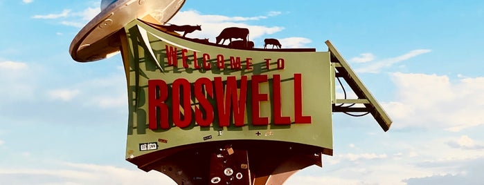 Welcome To Roswell is one of Andrew'in Beğendiği Mekanlar.