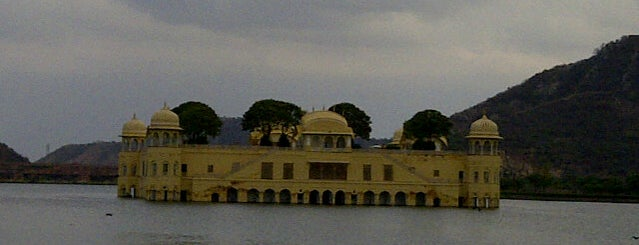 Jal Mahal is one of Locais salvos de Diego.