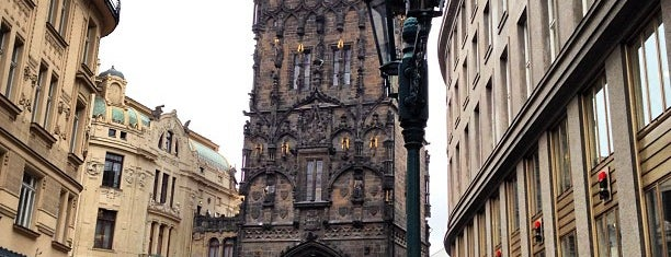 Prašná brána is one of Prague.