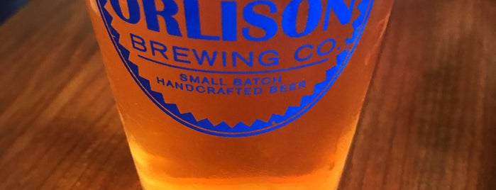 Orlison Brewing Company Tavern is one of Yet to Visit.