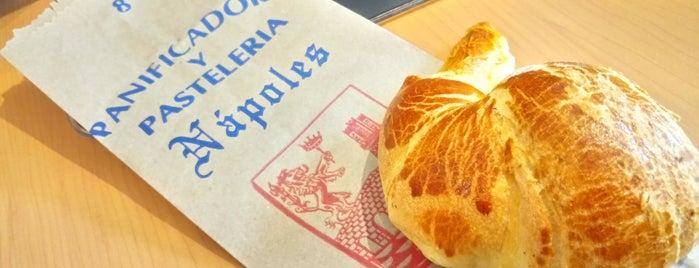 Panadería Nápoles is one of Locais curtidos por JCarlos.
