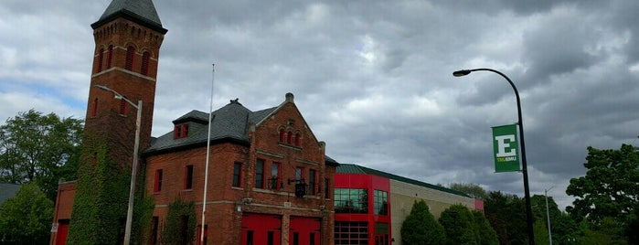 Michigan Firehouse Museum is one of Happenings.
