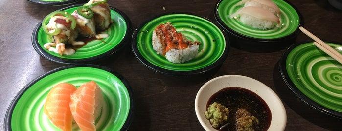 Kura Sushi is one of John 님이 저장한 장소.