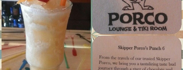Porco Lounge & Tiki Room is one of Justine 님이 좋아한 장소.