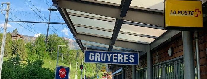 Gare de Gruyères is one of Locais curtidos por Amit.
