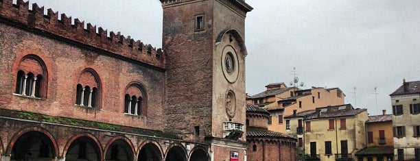 Piazza Delle Erbe is one of #4sqCities #Mantova - 25 Tips for travellers!.
