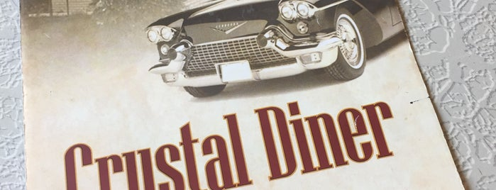 The Dumont Crystal Diner is one of Jersey Diners.