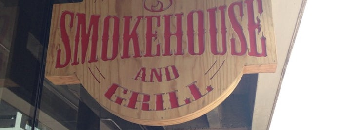 The Smokehouse and Grill is one of Gauteng Hotspots.