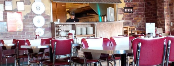 Sam & Louie's Pizza is one of Omaha pizzas - gf options.