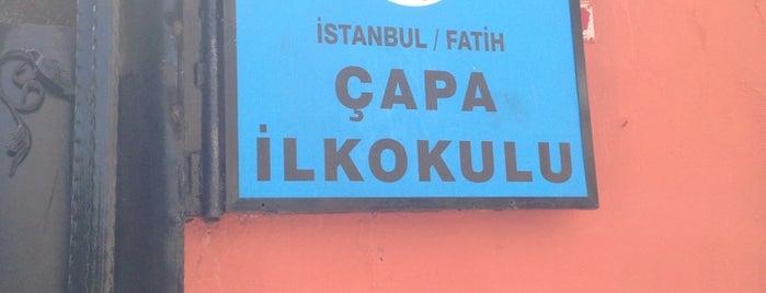 Çapa İlköğretim Okulu is one of Beğenilen.